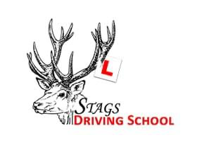 stags driving school logo